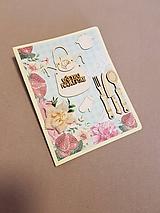 Papiernictvo - gratulačná pohľadnica pre najlepšieho kuchára, kuchárku - 11469644_