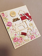 Papiernictvo - gratulačná pohľadnica pre najlepšiu krajčírku - 11469679_
