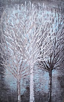 Obrazy - Tri stromy - 11470358_