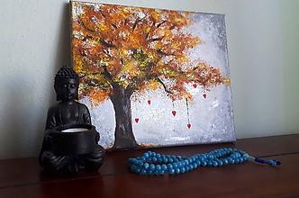 Obrazy - Jesenné lístie - 11469198_