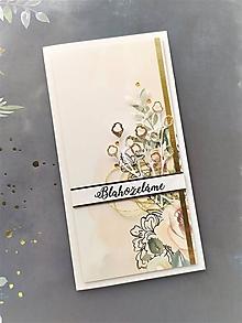Papiernictvo - Svadobná pohľadnica - 11469445_