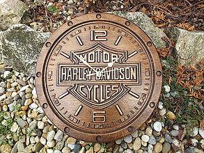 Hodiny - Hodiny Harley Davidson - 11469947_