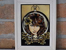 Obrazy - Obraz Lady Death - 11470152_