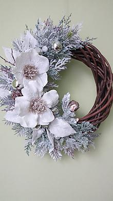 Dekorácie - Vianocny veniec Anjelska neha - 11470697_