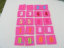 Hračky - Pexeso - čísla - 11470089_