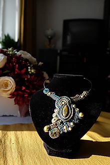 Náhrdelníky - Veľký náhrdelník - 11470071_