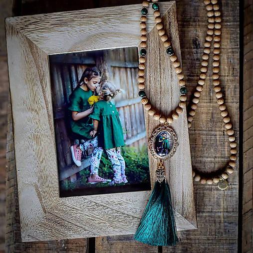 Osobný náhrdelník s medailónom