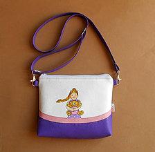 Detské tašky - malá slečna s macom - 11470099_