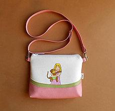 Detské tašky - malá slečna s opičkou - 11470128_