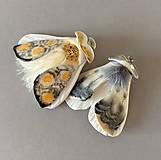 Odznaky/Brošne - Nočný motýl II - 11470649_