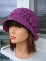 Čiapky - tvarovaný klobučik - 11472547_