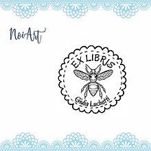 Nezaradené - Pečiatka EX LIBRIS včela - 11472257_