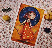Grafika - Malá tanečnica - 11474366_