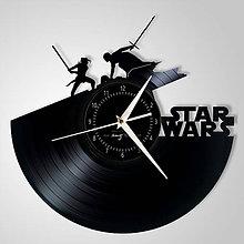 Hodiny - Star Wars (The Rise of Skywalker) - vinylové hodiny (vinyl clocks) - 11472712_