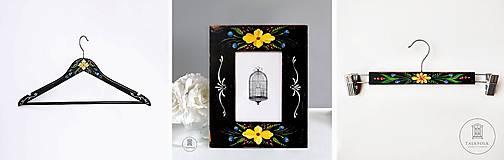 Nábytok - Starožitný vešiak Victoria - 11473005_