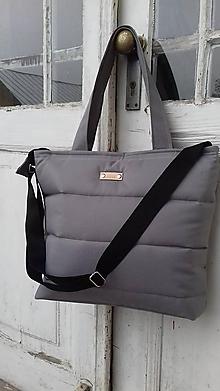 Veľké tašky - Nepremokavá termo / svetlá sivá / - 11473972_