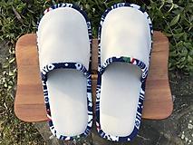 Sivé papuče
