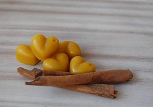 Drobnosti - Vonný včelí vosk - rôzne vône (vôňa škorica) - 11473042_