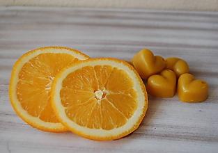 Drobnosti - Vonný včelí vosk - rôzne vône (vôňa brazílsky pomaranč) - 11473062_