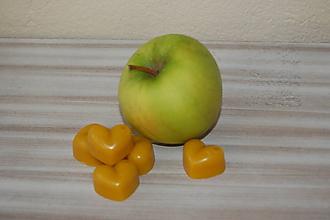 Drobnosti - Vonný včelí vosk - rôzne vône (jablko) - 11473070_