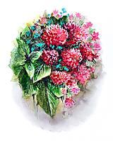 Kresby - Maľba kvetín Geraldine - 11474252_