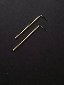 Náušnice - Shine // earrings // 50 mm - 11472386_