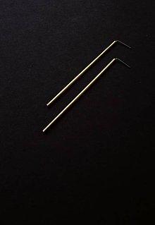 Náušnice - Shine // earrings // 70 mm - 11472408_