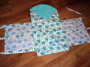 Textil - zavinovačka obliečka - 11474054_
