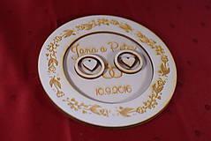 Prstene - Drevený podnos vankúšik na obrúčky gravirovaný 4 - 11472858_