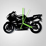 Motorka Kawasaki - vinylové hodiny (vinyl clocks)