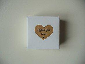 Krabičky - svadobné krabičky - 11476260_