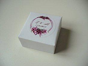 Krabičky - svadobné krabičky + leporelo GRATIS - 11476322_