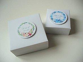 Krabičky - svadobné krabičky + leporelo GRATIS - 11476346_