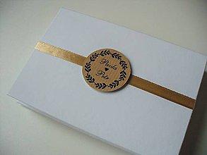 Krabičky - svadobné krabičky + leporelo GRATIS - 11476374_
