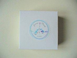 Krabičky - svadobné krabičky + leporelo GRATIS - 11476385_