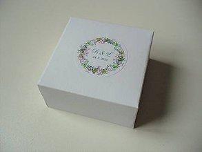 Krabičky - svadobné krabičky + leporelo GRATIS - 11476425_