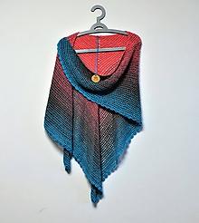 Šatky - Háčkovaný šátek XXL 2114 - 11476945_