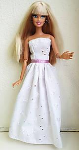 Hračky - Madeirové šaty pre Barbie - 11476746_