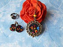Sady šperkov - Maľovaný kohútik - 11478242_