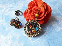 Sady šperkov - Maľovaný kohútik - 11478244_