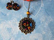 Sady šperkov - Maľovaný kohútik - 11478248_