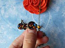 Sady šperkov - Maľovaný kohútik - 11478253_