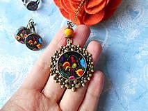 Sady šperkov - Maľovaný kohútik - 11478254_