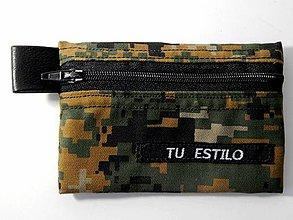 Peňaženky - Peňaženka maskáčova 001 - 11478499_