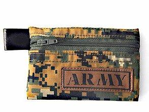 Peňaženky - Peňaženka maskáčova 003 - 11478530_
