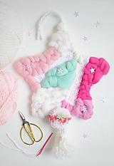 Detské doplnky - -Závesná dekorácia/hviezda- - 11475749_