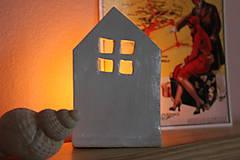 Svietidlá a sviečky - Domček v škandinávskom štýle - 11475999_
