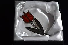 Odznaky/Brošne - tulipán - 11478127_