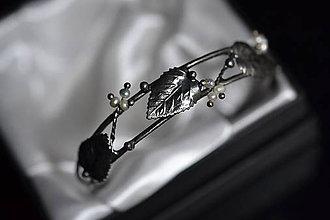 Náramky - perlová větvička - 11478090_