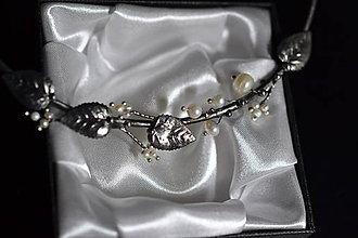Náhrdelníky - perlové větvičky - 11478100_